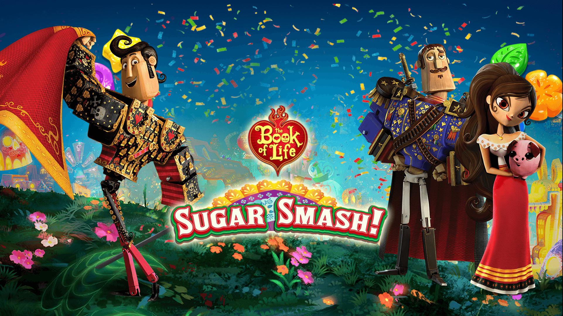 Book of Life: Sugar Smash